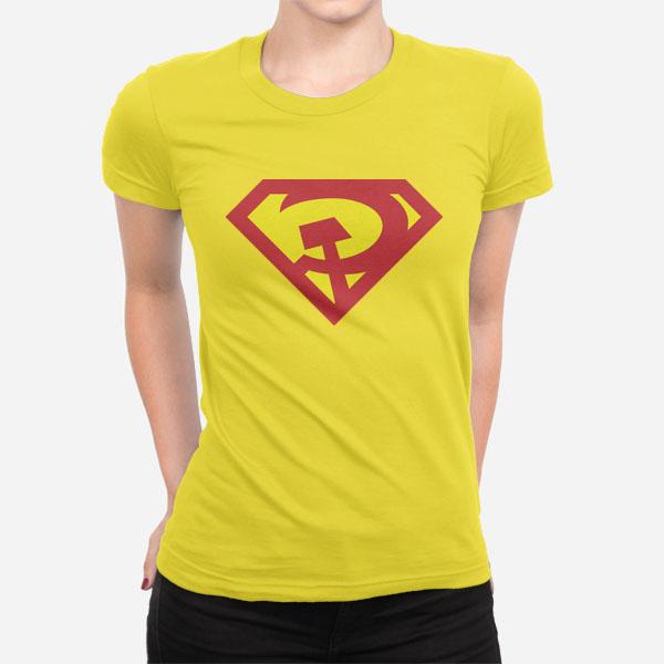 Ženska kratka majica Super CCCP
