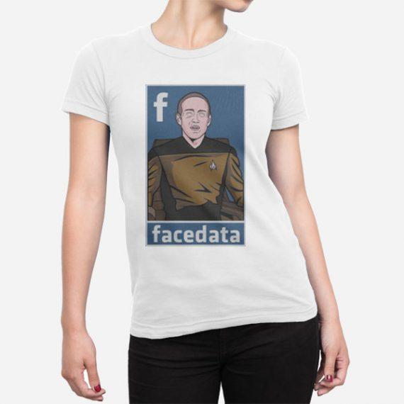 Ženska kratka majica Facedata