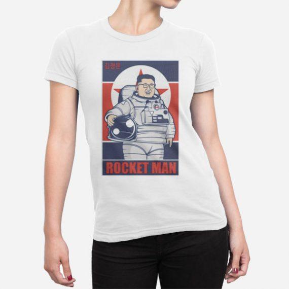 Ženska kratka majica Rocket Man