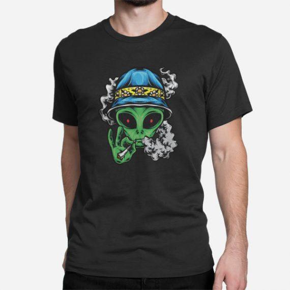 Moška majica Chill Alien