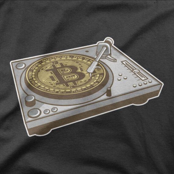 Majica Bitcoin mašina