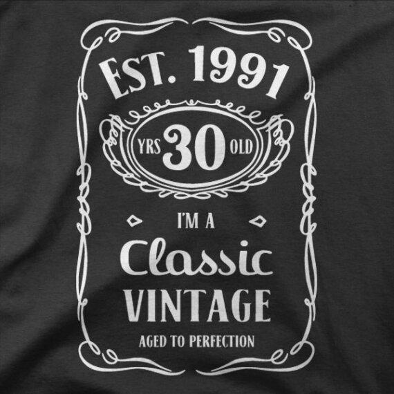 Majica Classic Vintage 1991