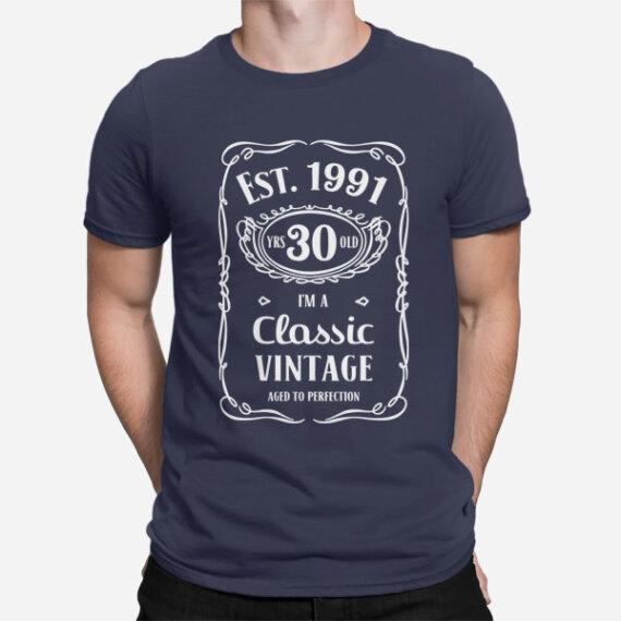 Moška kratka majica za 30 let